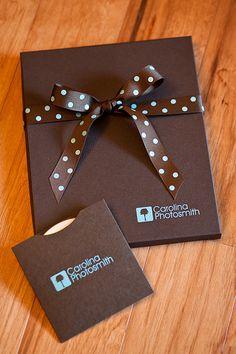 Carolina Photosmith, New Packaging! - Rice Studio Supply - photo packaging - boxes - CD/DVD sleeves