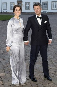 Princess Mary even looks good in satin