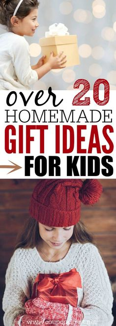 21 Homemade Gifts for Kids {that they will love}