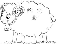 Sheep Drawing, Book Activities, Farm Animals, Art Drawings, Alphabet, Preschool, Jar, Cartoon, Education