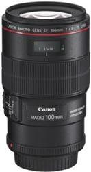 Canon EF 100mm f/2.8L IS USM 1-to-1 Macro Lens for Canon Digital SLR Cameras $979.00