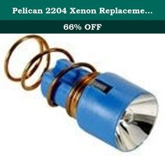 Pelican 2204 Xenon Replacement Lamp for 2250 Headlamp. Swivel Head Flashlights Type: Lamp Module Bulb Type: Laser Spot Xenon For Use With: Pelican™ - Versabrite™ Flashlights.