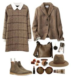 """Sin título #1697"" by mussedechocolate ❤ liked on Polyvore featuring Uniqlo, rag & bone, Laura Mercier, Burberry, MICHAEL Michael Kors, Linda Farrow, Vince Camuto and Clinique"