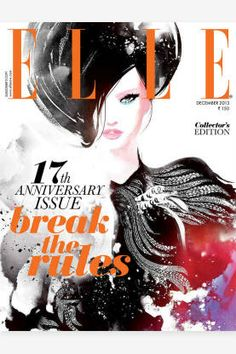 The Year in ELLE Covers - The Best ELLE International Covers 2013 - ELLE