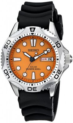 Seiko SNE109 Solar Quartz Dive Watch