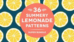 36 Summery Lemonade Patterns