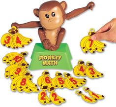 Monkey Math by Popular Playthings - $16.95: cute addition game for younger children
