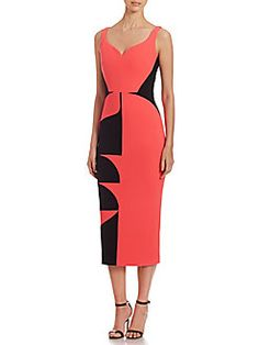 Antonio Berardi - Colorblock Sheath Dress