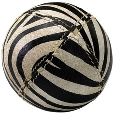 I pinned this Zebra Sphere from the Voyageur & Co event at Joss & Main!