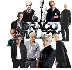 """Tom Felton is Draco Malfoy"" by biancx3 ❤ liked on Polyvore"