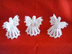 Free Crochet Patterns: Crochet Angel Christmas Ornament