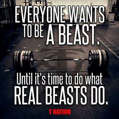 #tnation be a beast