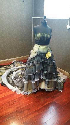 Jahrgang südliche gotische Wedding Dress von WeddingDressFantasy