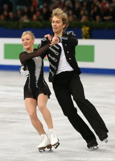 Penny Coomes and Nicholas Buckland of Great Britain compete in the Ice Dance Free Dance event of the ISU European Figure Skating Championshi...