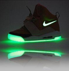 Glow in the dark Nike shoes!