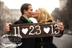 Save the Date Wooden Wedding Sign $29.99 Buy and Sell Crafts On Line | Handmade Crafts to Sell? Free Posting