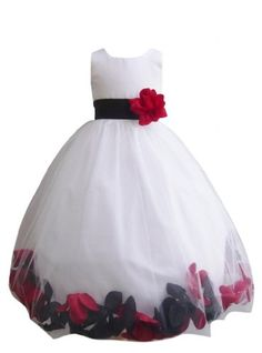 Satin flower girl dress with red pink black lilac sash flower girl satin flower girl dress with red pink black lilac sash flower girl dresses satin flowers and girls dresses mightylinksfo