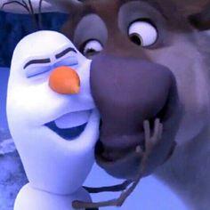 Olaf and Sven <3