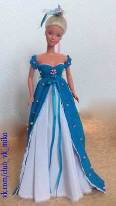 Princess Gowns, Disney Princess, Barbie Dolls, Bridal Gowns, Cinderella, How To Wear, Clothes, Beautiful, Doll Dresses