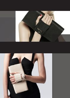 Perhaps the only clutch I could deal with. Perrin Paris Capitale Clutch