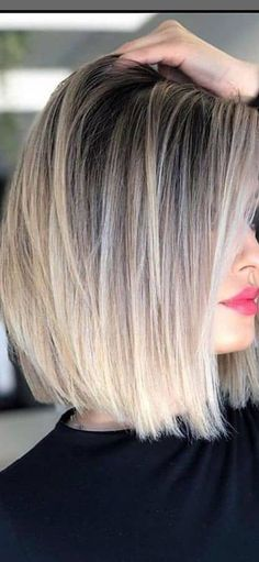 Medium Hair Styles, Short Hair Styles, Short Hair With Layers, Hair Color And Cut, Pretty Hairstyles, Medium Bob Hairstyles, Hair Affair, Shoulder Length Hair, Great Hair