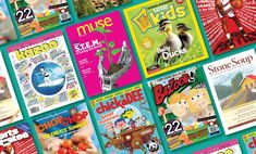 From Highlights to Kazoo, here are a few kids magazines that will teach your child about art, science, nature, and the U.S. Postal Service.