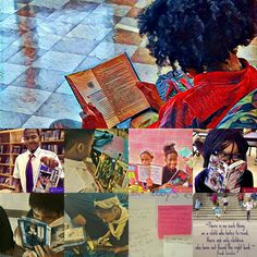 A beautiful compilation of daily life in the school library. Submitted by: T. Love of WMMS SmartZone Library