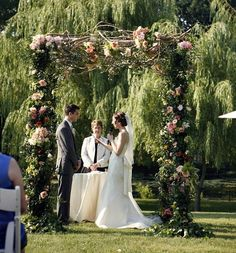 Wedding Design: Outdoor Ceremony . Inspired By This.