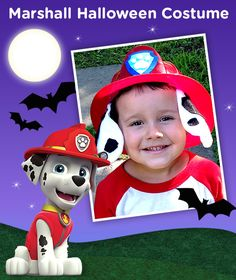 Spotted: This DIY Marshall PAW Patrol costume is so cute!