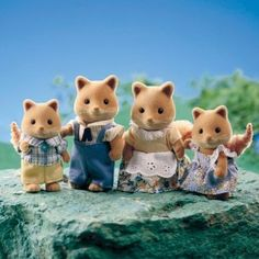 Calico Critters Fox Family