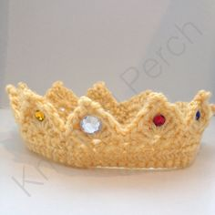 Baby Prince Crown Baby Princess Crown newborn boy/girl photo