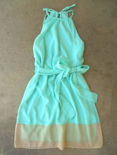 Breezy Shoreline Dress, deloom.com, $36