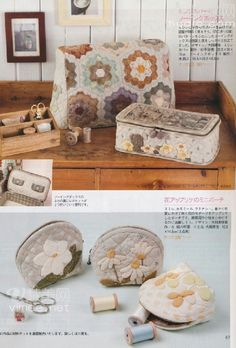 - christine pages - Picasa Web Albums Japanese Patchwork, Japanese Bag, Japanese Quilts, Patchwork Bags, Japanese Fabric, Quilted Bag, Sewing Machine Accessories, English Paper Piecing, Small Quilts