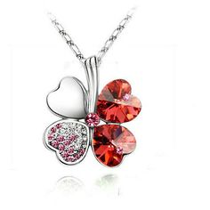 Silver Plated 4 Leaf Clover Necklace