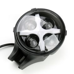 "Mad Hornets - 6"" 60W Round LED Fog Spot Light X DRL Turn Signal Reverse Offroad Truck JEEP OHV, White Center X, $72.99 (http://www.madhornets.com/6-60w-round-led-fog-spot-light-x-drl-turn-signal-reverse-offroad-truck-jeep-ohv-white-center-x/)"