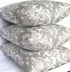 Grey Damask Fabric by the Yard Premier Prints by FabricSecret Grey Home Decor, Home Decor Fabric, Premier Prints, Going Gray, Coordinating Fabrics, 50 Shades Of Grey, White Houses, Fabric Samples, Bedroom Decor