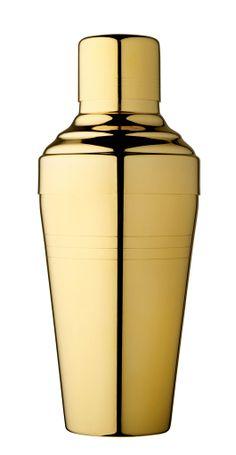 Yukiwa Baron Gold Plated Cocktail Shaker