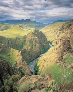 North America's deepest river gorge is Hells Canyon, in Oregon