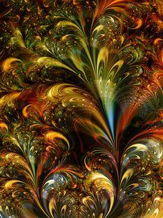 Firework by ~titiavanbeugen on deviantART by hytthaxan Fractal Images, Fractal Art, Fractal Design, Psychedelic Art, Image Hd, Whimsical Art, Beautiful Artwork, Oeuvre D'art, Art Forms