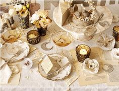 table de mariage ivoire or et chocolat salle reception table mariage decorations de table