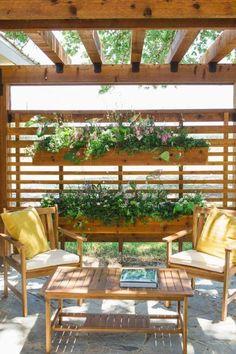 20 stunning backyard patio and deck design ideas 1 ⋆ All About Home Decor Diy Pergola, Outdoor Pergola, Pergola Shade, Outdoor Decor, Pergola Ideas, Outdoor Furniture Sets, Pergola Decorations, Outdoor Privacy, Outdoor Patios