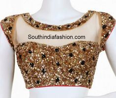 Heres the best new blouse styles - sexy blouse, traditional blouses, lehenga blouse and latest saree blouses to flaunt your best features for your body type Saree Blouse Patterns, Sari Blouse Designs, Fancy Blouse Designs, Blouse Styles, Choli Designs, Blouse Back Neck Designs, Red Lehenga, Lehenga Choli, Sarees