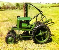 1948 Shaw Du-All garden tractor.