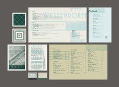 Dribbble - westendorff_collateral_j_fletcher_dribble.jpg by Jay Fletcher Bar Restaurant Design, Restaurant Identity, Restaurant Marketing, Menu Restaurant, Brand Packaging, Packaging Design, Branding Design, Design Café, Menu Design