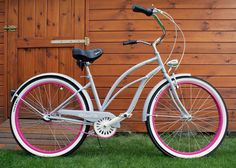 Rower cruiser Pink Panther #bike #cruiser #beachbike #beachcruiser #royalbi #rower #miejski www.RoyalBi.pl