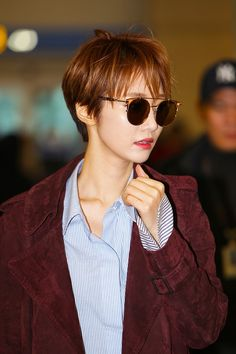 In South Korea, there is a short hair called Gao Junxi, which is rated as the most beautiful short hair actress in Korea. - Page 39 of 72 - zzzzllee Asian Hair Bob, Asian Pixie Cut, Girl Short Hair, Short Hair Cuts, Short Hair Styles, Haircut Tip, Pixie Haircut, Undercut Hairstyles, Cute Hairstyles