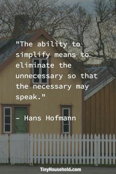 Less Is More : Minimalism Minimal Living, Simple Living, House Quotes, Life Quotes, Wisdom Quotes, Quotes To Live By, Qoutes, Quotations, Organize Life