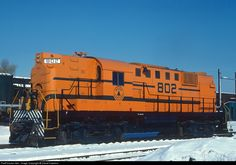 RailPictures.Net Photo: MEC 802 Maine Central Alco RS-11 at Waterville, Maine by David Hawkins