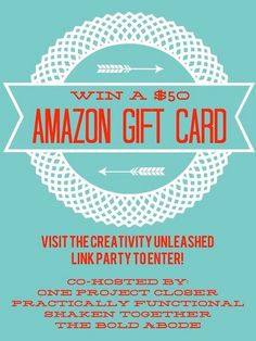 Win a FREE $50 Amazon Gift card!
