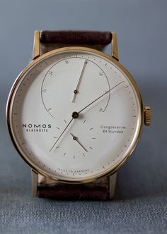 Hands-On: Comparing The New 39mm And Original 42mm Lambda Watches From NOMOS Glashütte